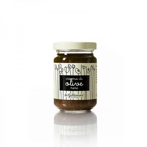 La Gallinara - Oliven-Creme schwarz La Gallinara