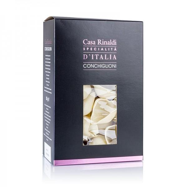 Deli-Vinos Riso & Pasta - Große Muschelnudeln zum Füllen Conchiglioni Vietri gelb