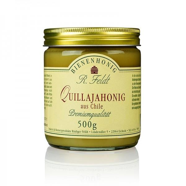 R. Feldt Bienenhonig - Quillaja-Honig Chile dunkelgelb cremig aromatisch nussig