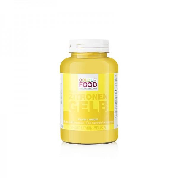 Colour Food - ColourFood Lebensmittelfarbe - Zitronen Gelb Pulver fettlöslich vegan
