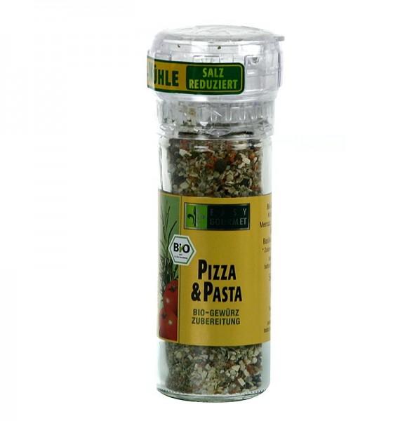 Easy Gourmet - Gourmet-Gewürzmühle Pizza & Pasta Gewürzzubereitung BIO