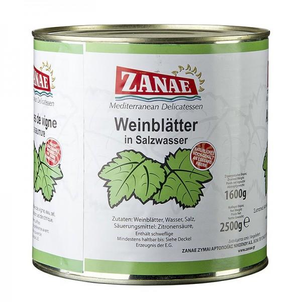 Zanae - Weinblätter in Salzwasser