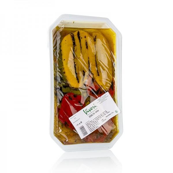 Viveri - Eingelegte Paprika gegrillt in Sonnenblumenöl