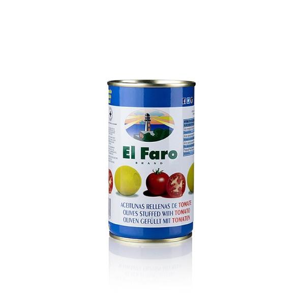 El Faro - Grüne Oliven mit Tomate in Lake El Faro