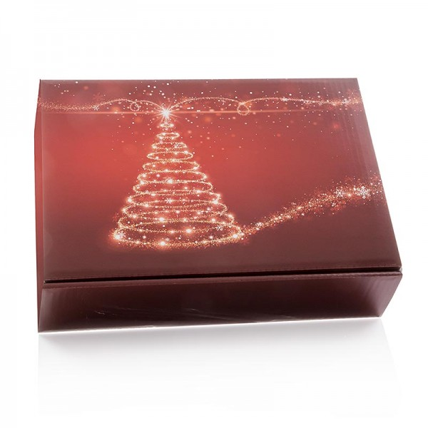 Famulus Verpackungen - Weinpräsentkarton Christmas Tree 3er Präsentkarton 360mm