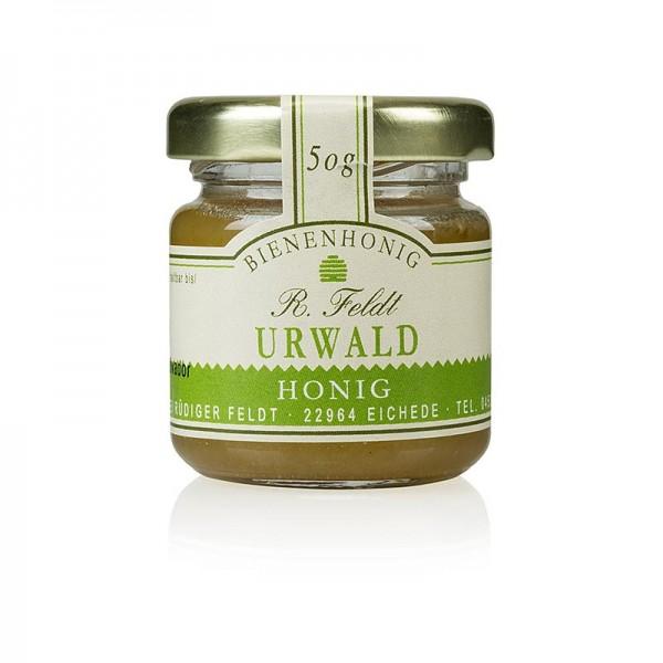 R. Feldt Bienenhonig - Urwald-Honig Uruquay flüssig bis cremig lieblich aromatisch Portionsglas