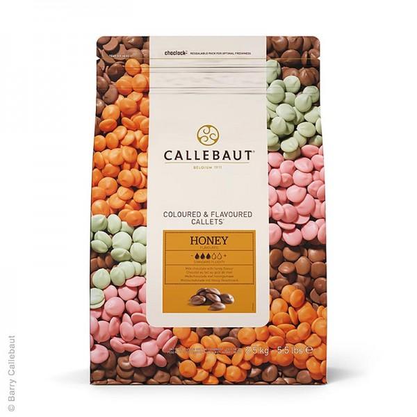 Callebaut - Vollmilch mit Honig Callets 32.8% Kakao