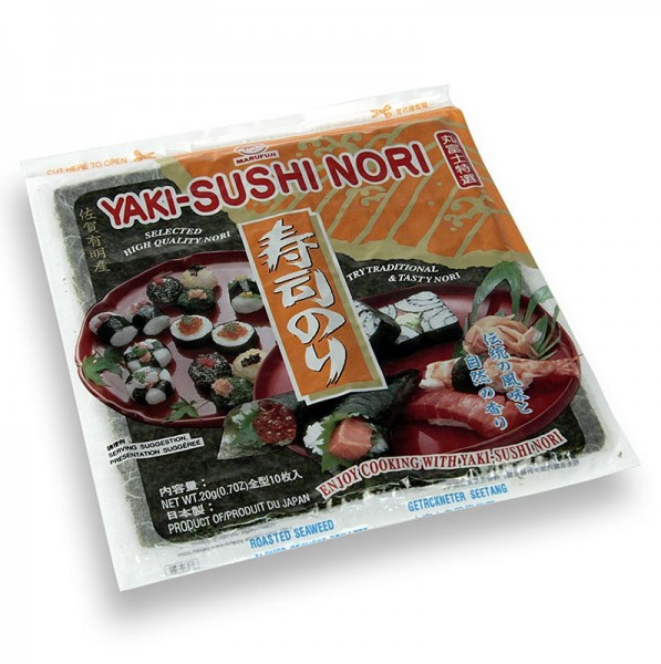 Deli-Vinos Asia - Yakinori ganze Größe getrocknete Algenblätter geröstet