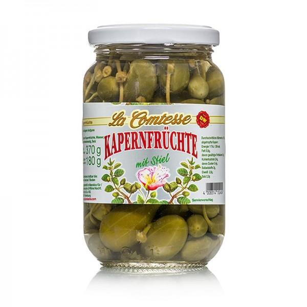 La Comtesse - Kapernfrüchte groß mit Stiel 18mm La Comtesse