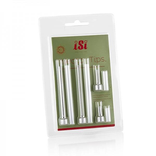 iSi - Fülltüllen-Aufsatz je 1 Nadel ø 3+5mm 2+9cm lang zum Befüllen