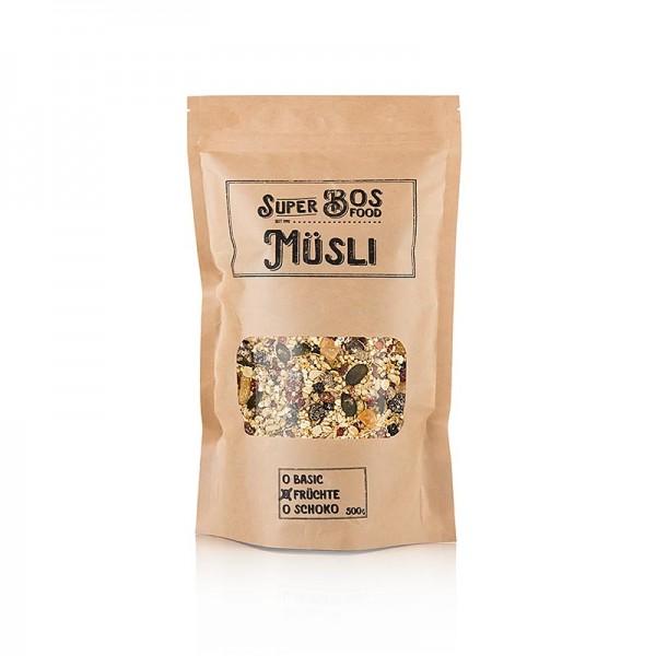 Bos Food - BOS FOOD Super Müsli - Früchte