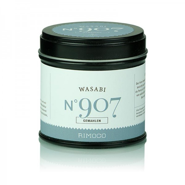 Rimoco - Wasabi - Grünes Meerrettich-Pulver aus 100% Wasabi (Eutrema japonica)