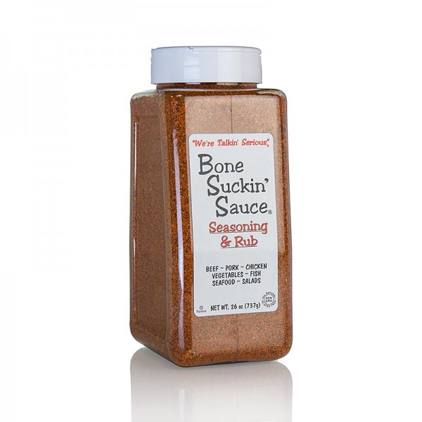 Bone Suckin' - Bone Suckin´ Seasoning & Rub´ Regular,BBQ Gewürzzubereitung pikant Ford´s Food