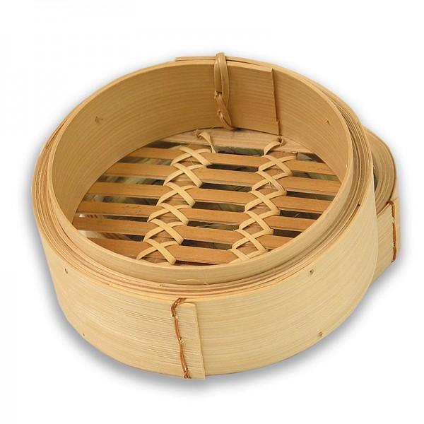 Deli-Vinos Kitchen Accessories - Unterteil Bambusdämpfer ø 13cm außen ø 11cm innen 5 inch