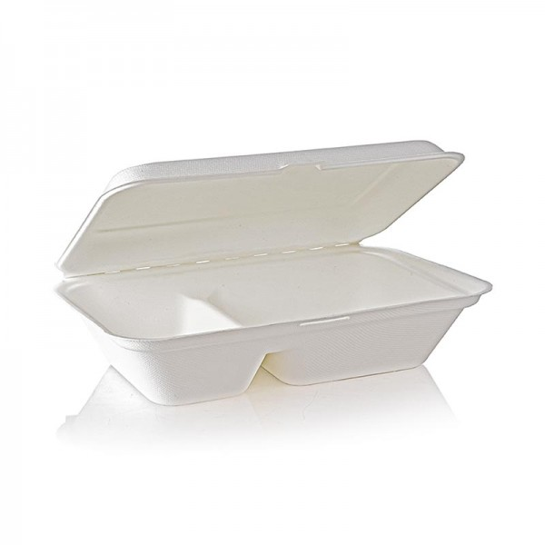 Naturesse - Take Away Naturesse Food Box Klappdeckel 2 Fach 249x162x63mm