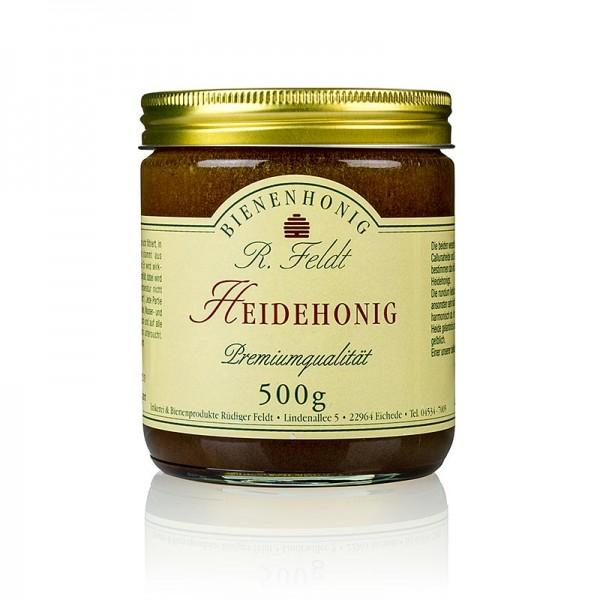 R. Feldt Bienenhonig - Heide-Honig dunkel cremig aromatisch heidetypisch kräftig