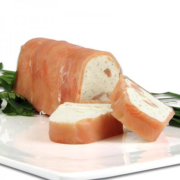 Deli-Vinos Snack Selection - Frischkäseterrine im Räucherlachsmantel TK