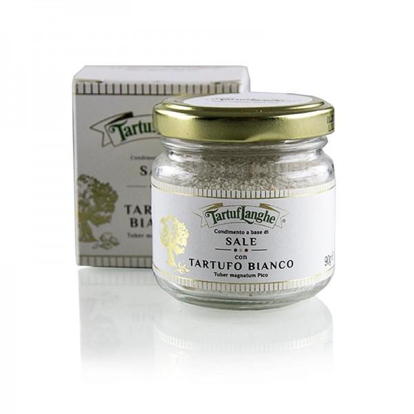 Tartuflanghe - Trüffelsalz mit weißem Trüffel 0.3% Tuber Magnatum Tartuflanghe (Gold)