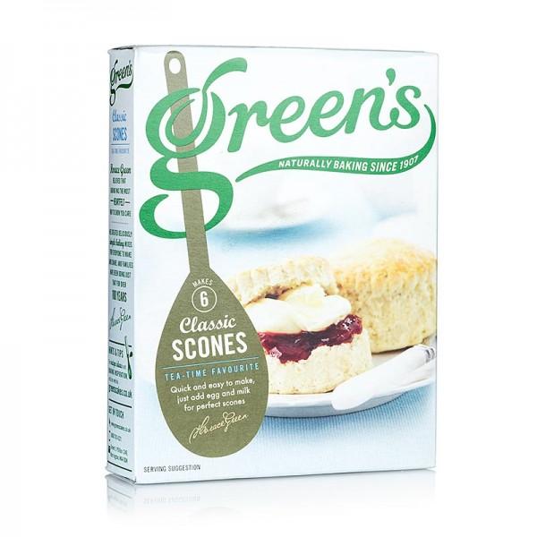 Greens Classic - Scones-Mehl-Mix für Teegebäck nach britischer Art