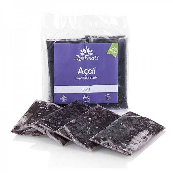 JoJu Fruits - Acai Püree 100% pur JoJu Fruits TK BIO