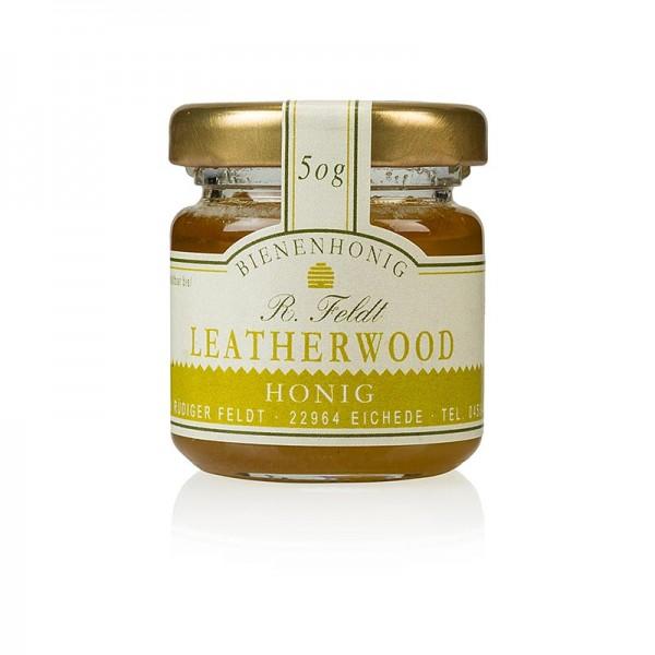 R. Feldt Bienenhonig - Leatherwood-Honig Tasmanien hellbraun cremig hocharomatisch Portionsglas