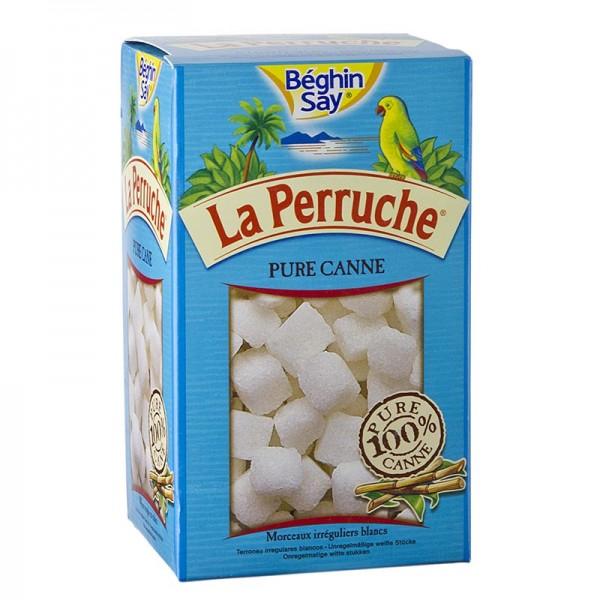 La Perruche - Rohr-Zucker weiß in Würfeln La Perruche