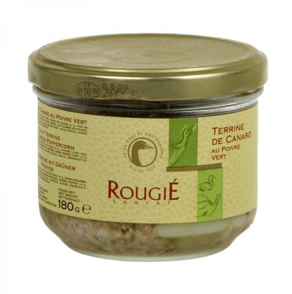 Rougie - Entenfleisch Terrine mit grünem Pfeffer Rougié