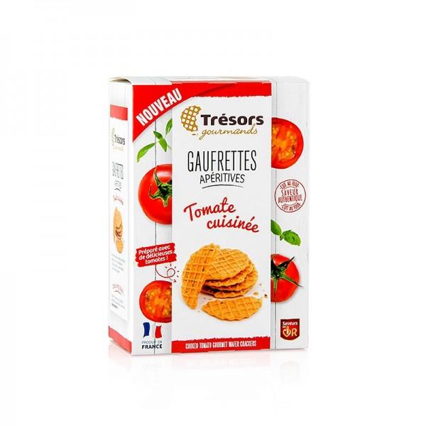 Barsnack Tresors - Barsnack Trésors - Gaufrettes franz. Mini-Waffeln mit Tomate