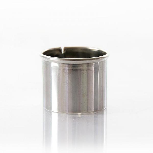 Deli-Vinos Kitchen Accessories - Edelstahlring-Ausstecher glatt ø 3cm 2.5cm hoch 0.3mm stark
