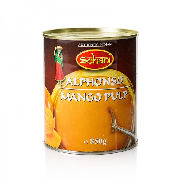 Schani - Mango-Pulpe gezuckert Alphonso Shani