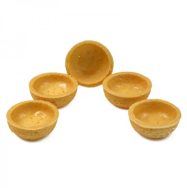Hug - Dessert-Tartelettes-Mini rund ø 3.8cm H 1.8cm Mürbeteig