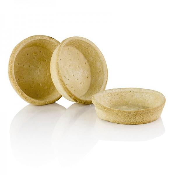 Pidy - Blätterteig Tartelette für Quiche 2.1cm hoch ø 8.5cm Pidy