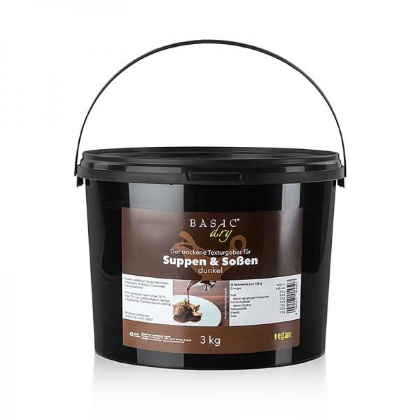 Herbacuisine - Basic Dry dunkel- Bindemittel & Texturgeber aus Apfelfaser Pulver Herbacuisine