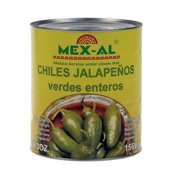 Mex-Al - Chili Schoten - Jalapenos ganz