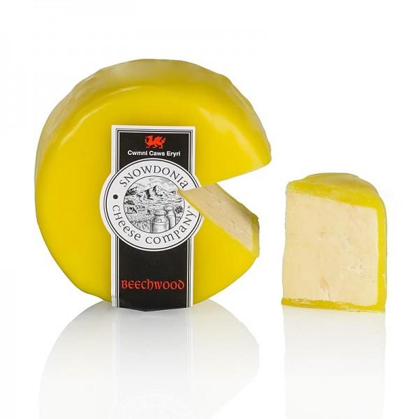 Snowdonia - Snowdonia - Beechwood Smoked geräucherter Cheddar Käse gelber Wachs