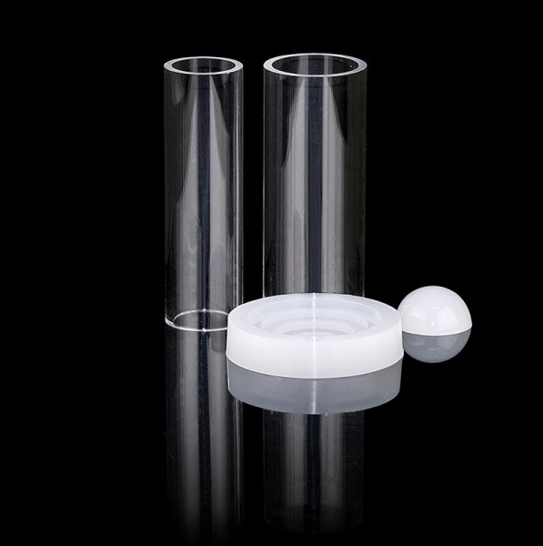 Deli-Vinos Kitchen Accessories - Fillini Maker Test-Set Mini: Grundplatte 30&40mm Rohr 30mm Einfüllkappe
