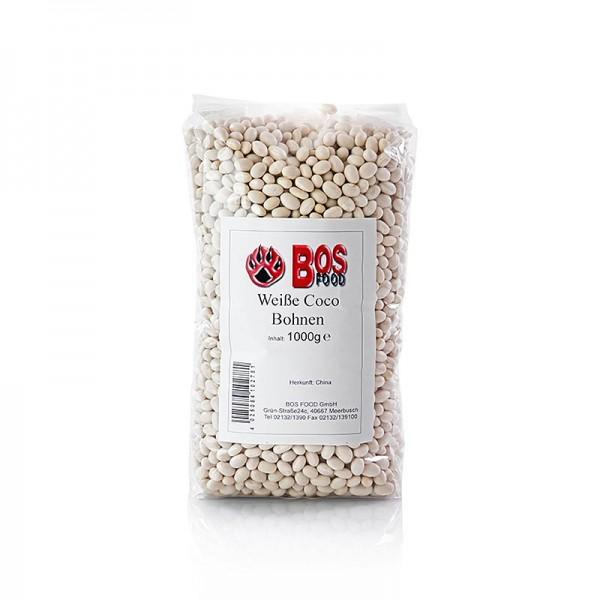 Deli-Vinos Legumes - Bohnen Cocobeans weiß und sehr klein getrocknet
