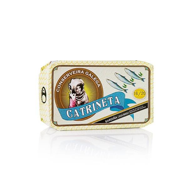 Catrineta - Sardinen (sardinillas pimiento de padron) ganz mit Paprika Catrineta