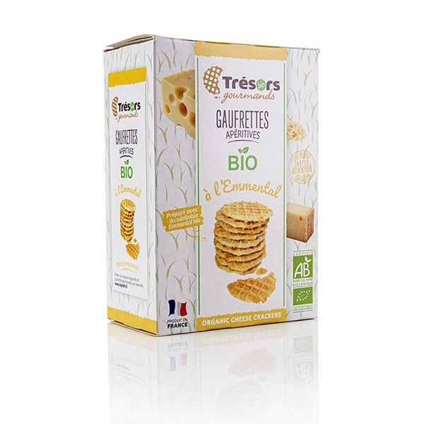 Barsnack Tresors - Barsnack Trésors - Gaufrettes franz. Mini-Waffeln mit Emmentaler BIO