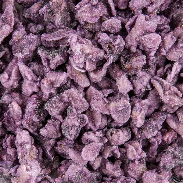 Deliflor - Echte Veilchen-Blütenblätter blau-violett kristallisiert ca. 2cm essbar