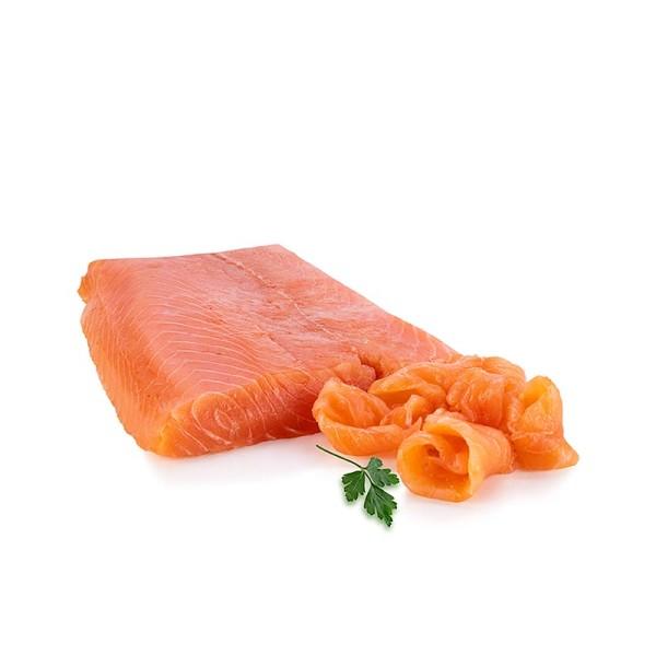 Deli-Vinos Sea Food - Schottischer Räucherlachs Filet kurz und breit ungeschnitten