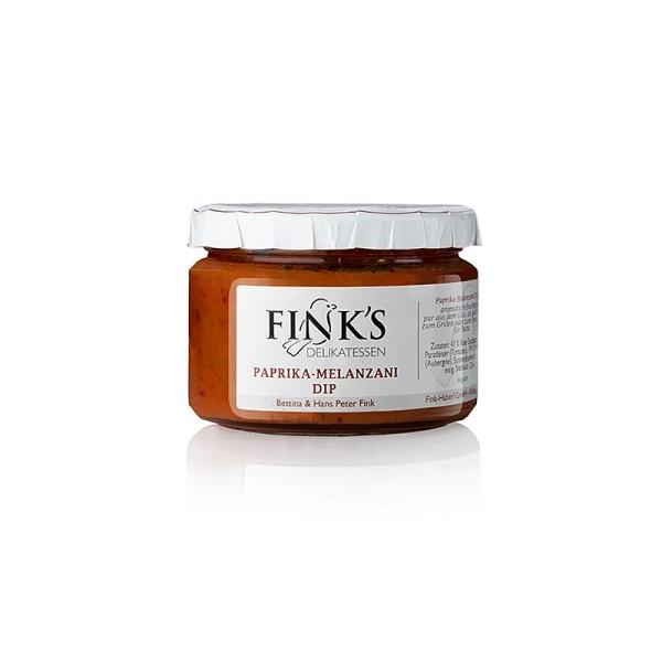 Fink's Echte Delikatessen - Paprika-Melanzani (Auberginen) Dip Finks
