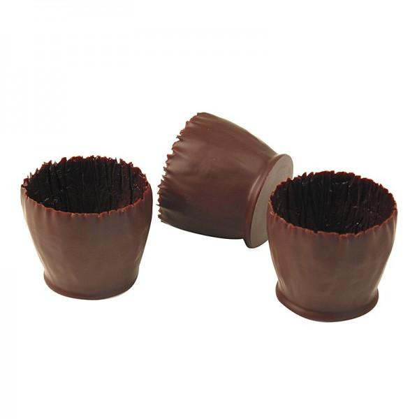 Rena - Schokoform - Marie-Jose dunkle Schokolade ø 45-50mm 45mm hoch