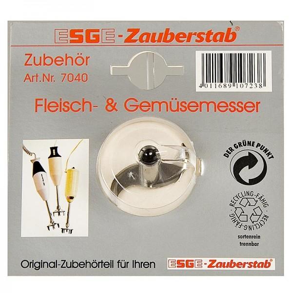 ESGE Zauberstab - Ersatz Messer Fleisch-/Gemüsemesser - grob- für Zauberstab ESGE No.7040