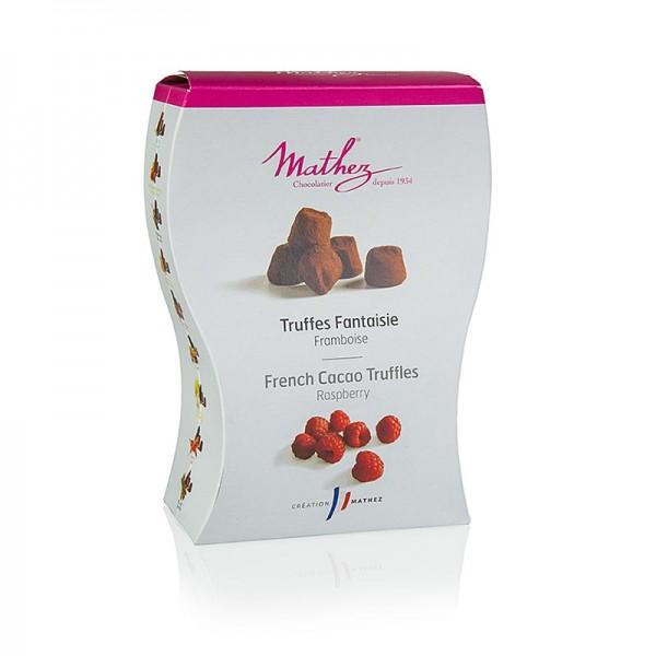 Mathez - Trüffelkonfekt - Pralinen mit Himbeere Mathez