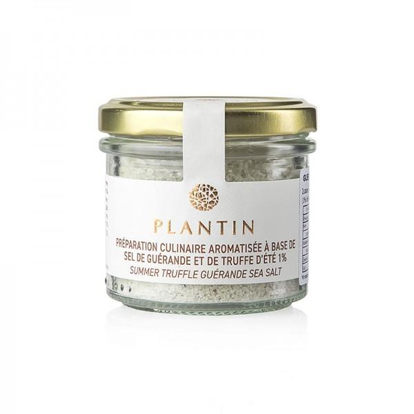 Plantin - Trüffelsalz mit schwarzem Trüffel 1% Tuber Aestivum 100g Plantin