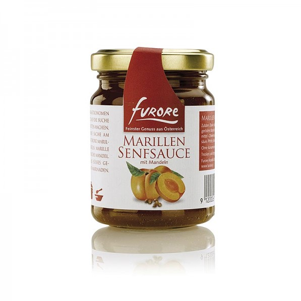 Furore - Furore - Marillen-Senf-Sauce mit Mandeln
