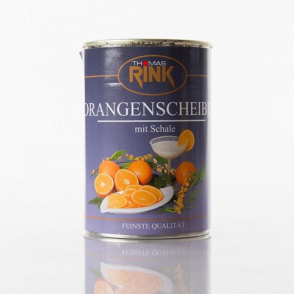 Thomas Rink - Orangen-Scheiben mit Schale stark gezuckert