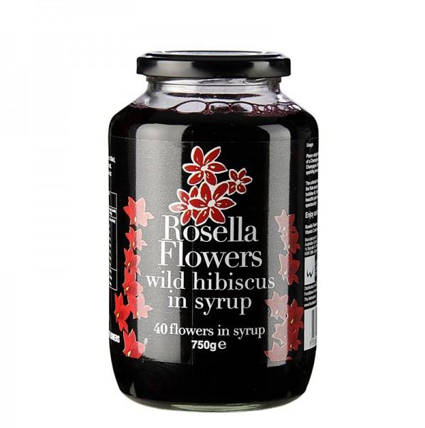 Wild Rosella - Wild Rosella in Sirup 40 Blütenkelche vom wilden Hibiskus