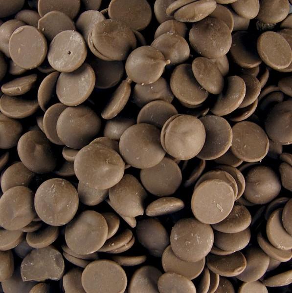Callebaut - Aromatisierte Dekormasse - Cappuccino Callets